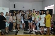 """Zakończenie projektu pt. """"Rok Pitagorasa"""" w ZSO w Kruszwicy"""